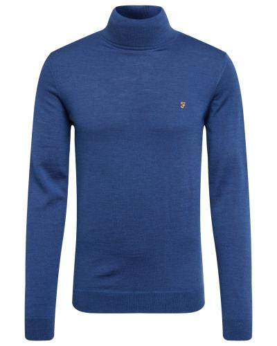 Pullover 'gosforth' blau