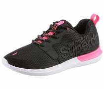 Sneaker neonpink / schwarz