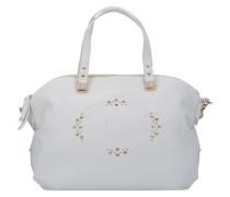 Handtasche 'Lucciola' naturweiß