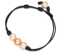 Armband orange / apricot / schwarz