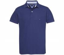 Poloshirt '50/2 Performance Polo S/S RF' blau