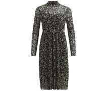 Kleid 'mariann' beige / schwarz