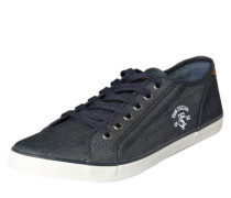 Sneaker aus Canvas navy