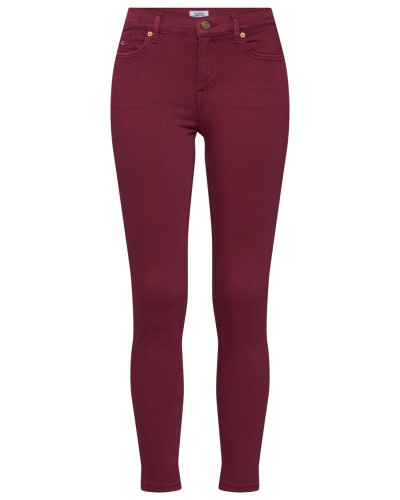 Jeans burgunder