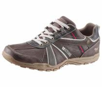 Shoes Schnürschuh hellbraun / dunkelbraun / dunkelgrau / rot / weiß