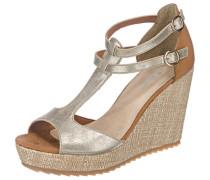 Sandaletten 'Fiona' gold