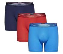 lange Boxer (3 Stück) blau