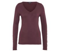 Dünner Pullover 'pullover Langarm' merlot