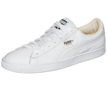 'Basket Classic Lfs' Sneaker gold / weiß