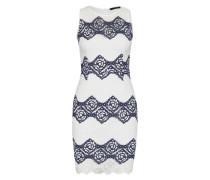 Kleid aus Spitze 'Carla' weiß / blau
