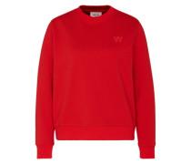 Sweater 'Wednesday' orangerot