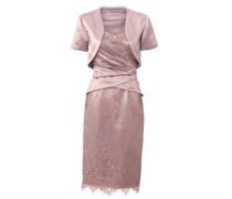 Kleid-Zweiteiler mit Spitze und Pailletten