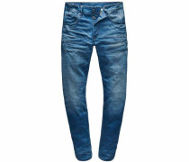 '3301 Straight' Jeans blue denim