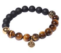 Armband 'Bead Lava Tigerauge'