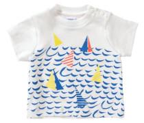 Baby T-Shirt für Jungen blau / gelb / orange / weiß
