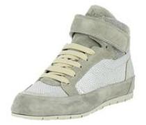 Sneakers grau / silber