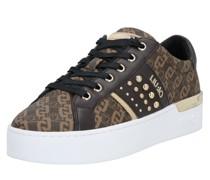 Sneaker 'Silvia 23' dunkelbraun / hellbraun