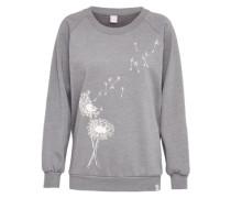 Sweatshirt 'Pusteblume' graumeliert