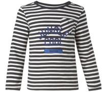 Langarmshirt Dowagiac blau / schwarz / weiß