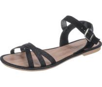 Sandaletten 'Nazli' schwarz