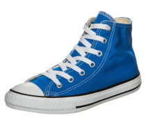 'Chuck Taylor All Star High' Sneaker Kinder blau