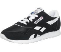 Sneaker 'Nylon' schwarz / weiß