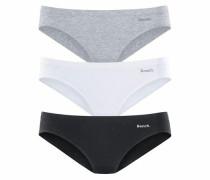 Slip (3 Stück) grau / schwarz / weiß
