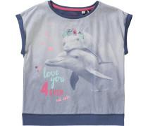 T-Shirt für Mädchen blau / hellblau / pink / rosa