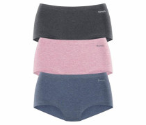 Panty (3 Stück) blau / grau / pink
