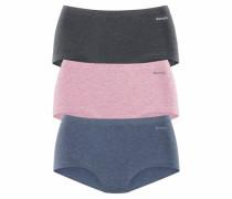 Panty (3 Stück) marine / anthrazit / rosa
