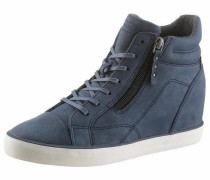 Wedgesneaker 'Star Wedge' taubenblau