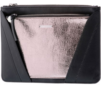 Handtasche Damen gold / schwarz