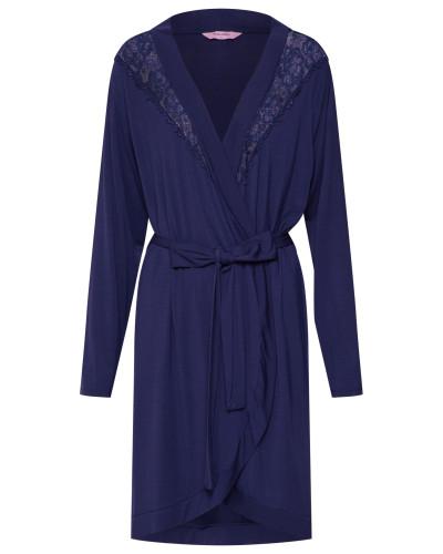 Morgenmantel 'Robe Modal Lace'