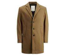 Woll-Jacke beige