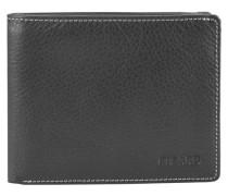 Diego Geldbörse Leder 115 cm schwarz