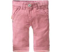 Baby Cordhose für Mädchen beige / rosa