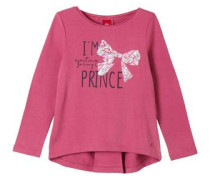 Sweatshirt mit Print pink