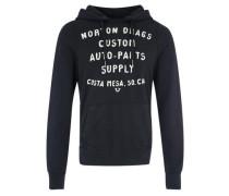 Kapuzensweatshirt Printed Hoody schwarz