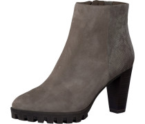 Stiefelette Suede taupe