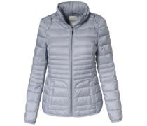 Stepp-Jacke mit Daunen-Füllung hellblau