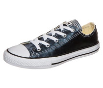 Chuck Taylor All Star Metallic OX Sneaker Kinder blau