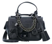 Mini Bag Handtasche 15 cm schwarz