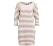 Kleid rosé / weiß