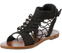 'Caged Bird' Sandalen schwarz