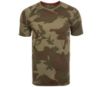 NFL Team Raglan Oakland Raiders T-Shirt Herren grün