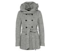 Übergangsmantel 'onlMARY Lisa Short Wool Coat' grau