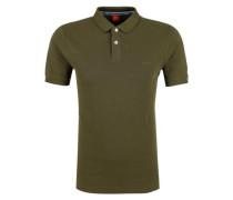 Poloshirt aus Baumwollpiqué khaki