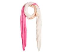 Schal Gemusterter beige / pink