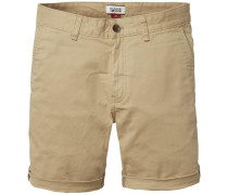 Shorts 'thdm Basic Straight Short Freddy 11' beige