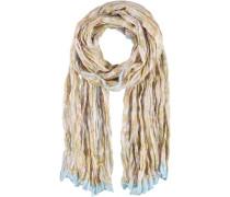 Polyester Schal beige